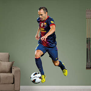 Andrés Iniesta - 2013 Fathead Wall Decal