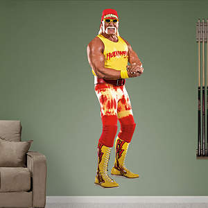 Hulk Hogan Fathead Wall Decal