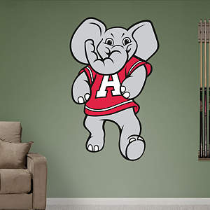 Alabama Crimson Tide Mascot - Big Al Fathead Wall Decal