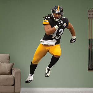 Troy Polamalu - 2012  Fathead Wall Decal