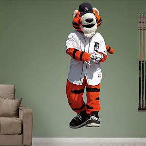 Detroit Tigers Mascot - Paws  Fathead Wall Decal