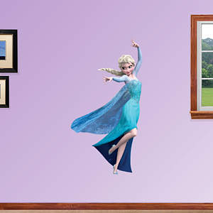 Snow Queen Elsa - Fathead Jr Fathead Wall Decal
