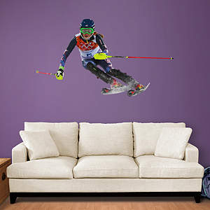 Mikaela Shiffrin - Slalom Fathead Wall Decal