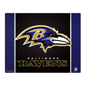 "Baltimore Ravens Logo 17"" Laptop Skin Decal"