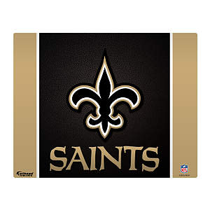 "New Orleans Saints Logo 17"" Laptop Skin Decal"
