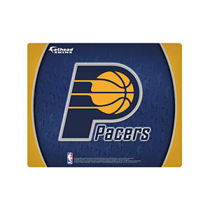 "17"" Laptop Skin Indiana Pacers Logo Decal"