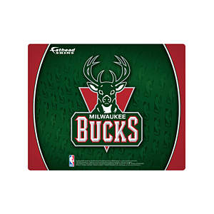 "15/16"" Laptop Skin Milwaukee Bucks Logo Decal"