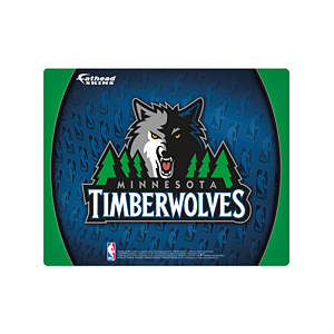 "15/16"" Laptop Skin Minnesota Timberwolves Logo Decal"