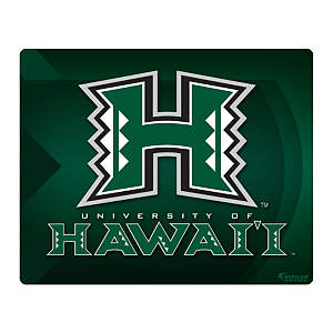 "Hawaii Warriors Logo 15/16"" Laptop Skin Decal"