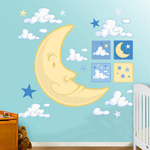 Nighttime Collection Fathead Wall Decal