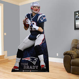 Life-Size Tom Brady Stand Out cut out from Fathead