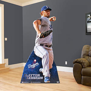 Life-Size Clayton Kershaw Cut Out, Fathead Stand Out
