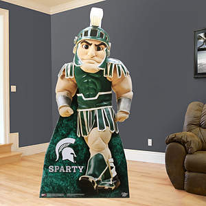 Life-Size Sparty Standee cut out