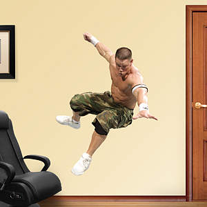 John Cena Action Fathead Wall Decal