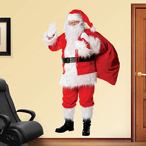 Santa Claus Fathead Wall Decal