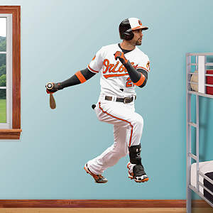 Nick Markakis - No. 21 Fathead Wall Decal