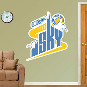 Chicago Sky Logo Fathead Wall Decal