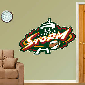 Seattle Storm Logo Fathead Wall Decal