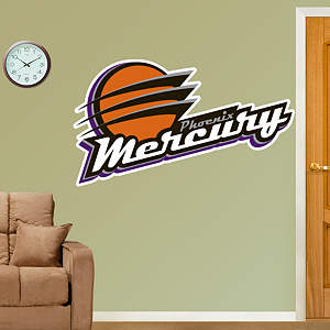 Phoenix Mercury Logo Fathead Wall Decal