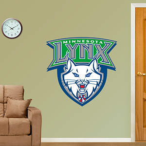 Minnesota Lynx Logo Fathead Wall Decal