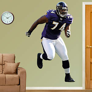 Michael Oher Fathead Wall Decal