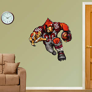 Cardiac Cardinal Fathead Wall Decal