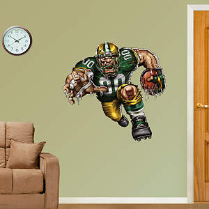 Pumped Packer Fathead Wall Decal