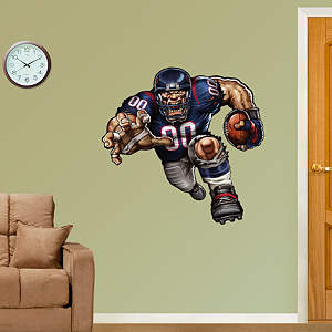 Tenacious Texan Fathead Wall Decal
