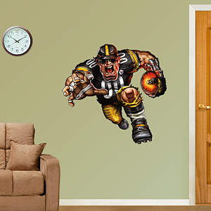 Steamroller Steeler Fathead Wall Decal