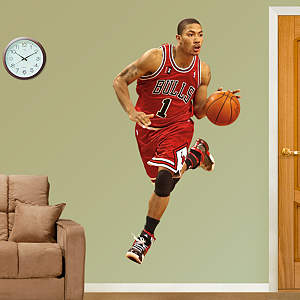 Derrick Rose Rookie of the Year Fathead Wall Decal