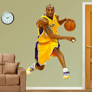 Kobe Bryant Fathead Wall Decal