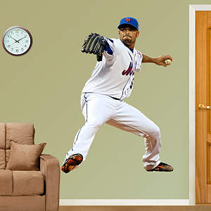 Johan Santana Fathead Wall Decal
