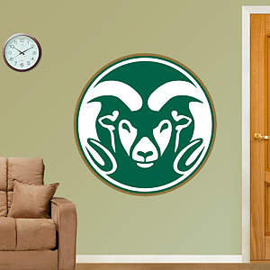 Colorado State Rams Logo Fathead Wall Decal