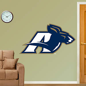 Akron Zips Logo Fathead Wall Decal