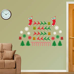 Holiday Silhouette Collection Fathead Wall Decal