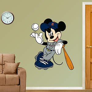 Mickey Mouse - Detroit Tiger Fathead Wall Decal