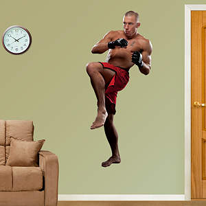 Georges St-Pierre Fathead Wall Decal