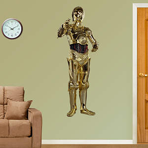 C-3PO Fathead Wall Decal
