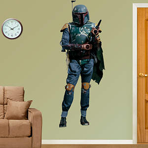 Boba Fett: Live Action Photo Fathead Wall Decal