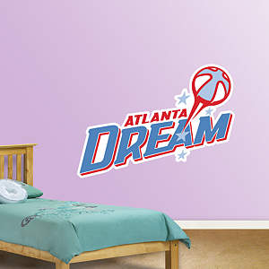 Atlanta Dream Logo Fathead Wall Decal