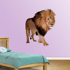 Lion Fathead Wall Decal