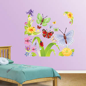 Butterflies Group Two Fathead Wall Decal