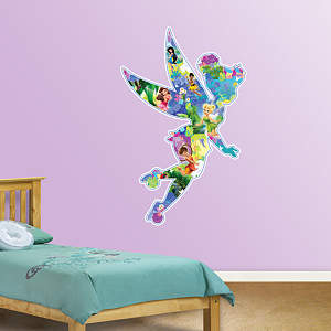 Disney Fairies Montage Fathead Wall Decal