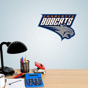 Charlotte Bobcats Logo Teammate Fathead Decal