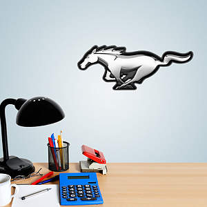 Ford Mustang Logo Teammate Fathead Decal