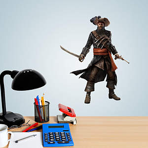 Blackbeard Teammate - Assassin's Creed IV Fathead Decal