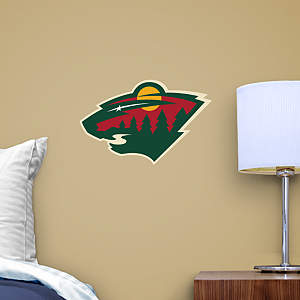 Minnesota Wild Teammate Logo Fathead Decal