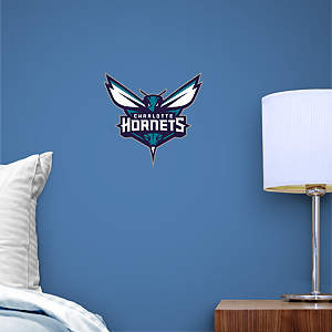 Charlotte Hornets Teammate Logo Fathead Decal