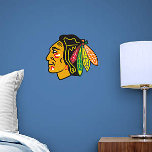 Small Chicago Blackhawks Decal