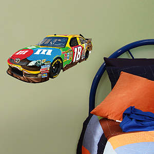 Kyle Busch #18 Car Teammate  Fathead Decal